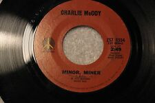 """Charlie McCoy """"I Really Don't Want to Know"""" & """"Minor Miner"""" 1972 Monument 8554"""