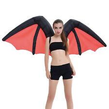 Giant Inflatable Bat / Devil Wings Fancy Dress Costume = Choose Your Colour