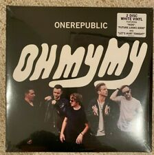 OneRepublic Oh My My Limited Edition Double White Colored Vinyl LP