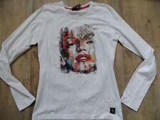 FRIEDA &FREDDIES cooles Langarmshirt mit Druck Gr 3XL (40) TOP  KoS817
