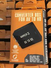 Armor 3 AV to HD Converter! RCA to HDMI Composite AV CVBS Video Adapter N64 SNES