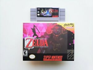BS Legend of Zelda Ancient Stone Tablets Game / Case - Super Nintendo SNES (USA)