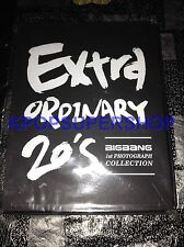 Big Bang Extraordinary 20's Photobook First Press Used Read Description BIGBANG