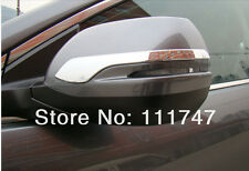 Door Rear View Mirror Strip Cover Trim For Honda CRV CR-V 2012 2013 2014 2015