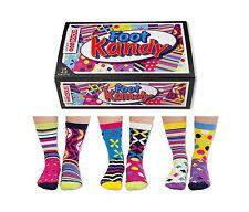 Kandy United Oddsocks todos los días de pie mujer talla 4 - 8 Reino Unido seis Calcetines todos Odd al azar