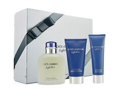 Dolce & Gabbana Light Blue pour Homme 125ml Eau de Toilette & 75ml ASBalm & 50ml
