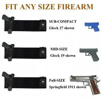 Military Tactical Adjustable Concealed Belly Band Waist Pistol Handgun Holster