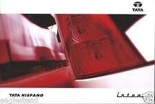 Bus Brochure - Tata - Hispano - Intea - c2010 (BU19)