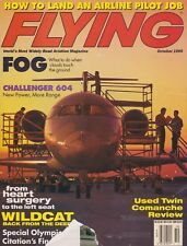 Flying Magazine (Oct 1995) (Airline Job, Challenger 604, Twin Comanche, F4F)