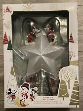 More details for lovely disney store mickey and minnie light up tree topper 2019
