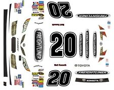 #20 Matt Kenseth Freightliner Toyota 2014-2017 1/43rd Scale Slot Car Decals