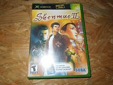 Shenmue II (Microsoft Xbox, 2002) ****Complete with Manual and Movie****LN****