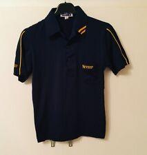 New listing BNWOT TSP Retro Navy Blue & YellowTable Tennis Retro Polo Shirt -size XXS Junior