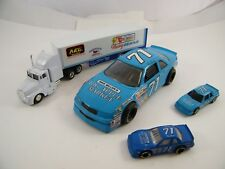 Dave Marcis ~ Big Apple Market Racing #71 ~ Transporter And Cars