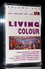LIVING COLOUR 9 Titel Volume 1 Metal Band  LSD Records MC NEU tape Kassette