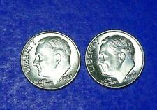 """New listing 1968-P&D Franklin D. Roosevelt Dime (10c) """"Bu Uncirculated"""" Stock Photo"""