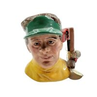 Royal Doulton Character Toby Jug The Golfer Hand Made And Hand Decorated D6865