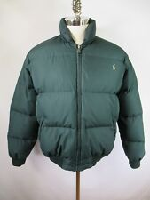 F3360 Polo Ralph Lauren Men's Long Sleeve Puffer Down Jacket Size M