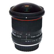 Vivitar 8mm f/3.5 Fisheye Lens For Canon EOS Digital SLR Cameras