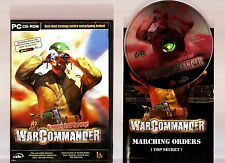 WARCOMMANDER RANGERS LEAD THE WAY! REAL TIME STRATEGY WAR GAME FOR THE PC!!