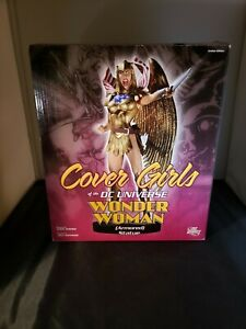 DC Cover Girls Wonder Woman Armored Statue --New In Box--