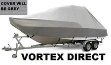 NEW VORTEX GREY 22' T-TOP CENTER CONSOLE BOAT COVER