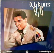 """G.I. BLUES ELVIS 12"""" LASERDISC MOVIE ELVIS PRESLEY VERY GOOD"""