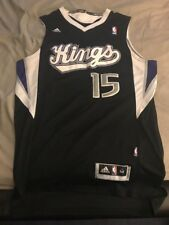 Sacramento Kings Demarcus Cousins Black Jersey Size Medium