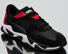 Puma Scuderia Ferrari Storm Men's Black Red White Lifestyle Shoes Low Sneakers