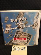 Big Al's Mlm Sponsoring Secrets 12 Cd Set Tom Schreiter Instructional Cds! Ggg25