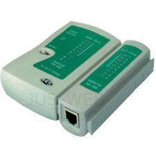 Kabeltester Netzwerktester Leitungstester Patchkabel Tester RJ45 RJ11 LAN Kabel
