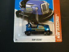 Hot Wheels Basic 2013 New Model Bump Around Blue