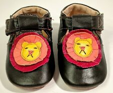 Livie and Luca Leather Lion Face Baby Shoes 6-12 Months Cutest Baby Shoes Ever!