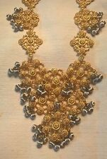 Beautiful Vintage jewelry set Necklace and earrings in Good condition