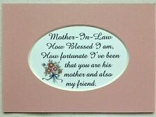 Mother in Law in Decorative Plaques & Signs for sale | eBay