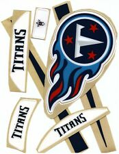 NFL Tennessee Titans Shield Decal