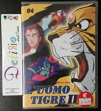 DVD L'UOMO TIGRE II N.4   Ed. YAMATO VIDEO  OFFERTA SPECIALE!