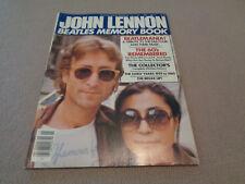 John Lennon Beatles Memory Book - Harris Publications - 1981