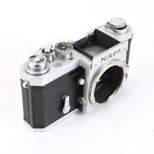 NIKON F CHROME BODY, 656XXXX, REWIND MODE INACCESSIBLE, AS-IS/210071