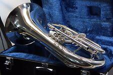 BACH 1106 SILVER Marching Baritone made by Yamaha same as YBH301M Horn YBH 301