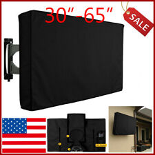 """Outdoor TV Cover Fitted Waterproof Weatherproof Television Protector 30""""-65"""""""
