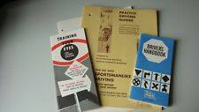 Vintage 1960's Driver's Education Handbooks
