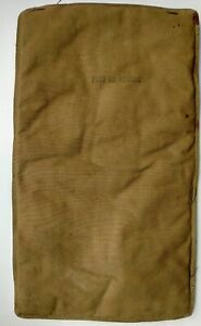 US WWII AAF BACK PADS FOR THE PILOTS PARACHUTES
