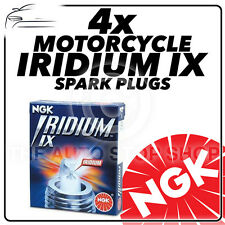 4x NGK Iridium IX Spark Plugs for SUZUKI 670cc XN85 650 Turbo 83->86 #4772