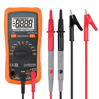 Digital Multimeter 6000 Counts TRMS Auto Range NCV DC AC Voltage Current Tester