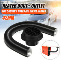 42mm Duct Air Ducting Pipe + Warm Air Outlet Vent For Webasto Eberspacher Heater