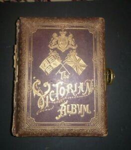 Antique Victorian Photo Album A Record of Queen Victoria's Reign 1903 Musical