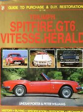 Guide To Purchase And DIY restoration Of Triumph Spitfire, GT6 And Herald Vitess