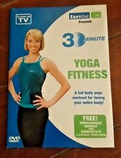 30 Minute -YOGA FITNESS- Full Body Yoga Workout (DVD, 2009)