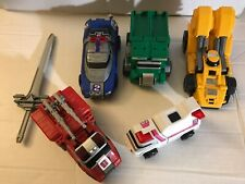 Power Rangers Turbo Deluxe Rescue MEGAZORD Combiner Figure with Sword Vintage